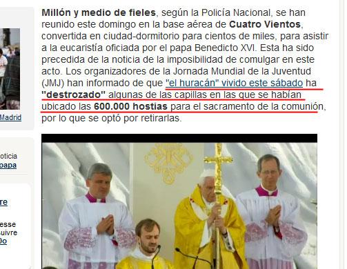 """El Papa renuncia: """"Ya no tengo fuerzas"""" [Peter Turkson será el proximo y ultimo Papa, y luego el Falso Profeta del Apocalipsis] Despedida-tormenta-ira-de-dios-papa-benedicto2"""