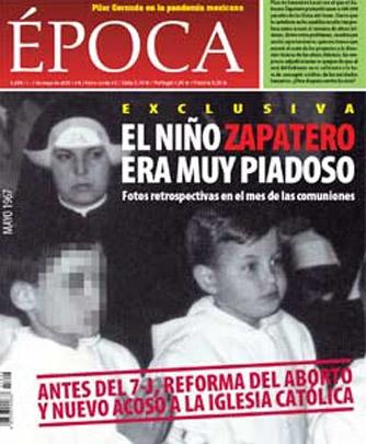 """José Bono: """"Cuando me dicen que soy de los jesuitas, me siento orgulloso"""" Zapatero-colegio-discipulas-jesus1"""
